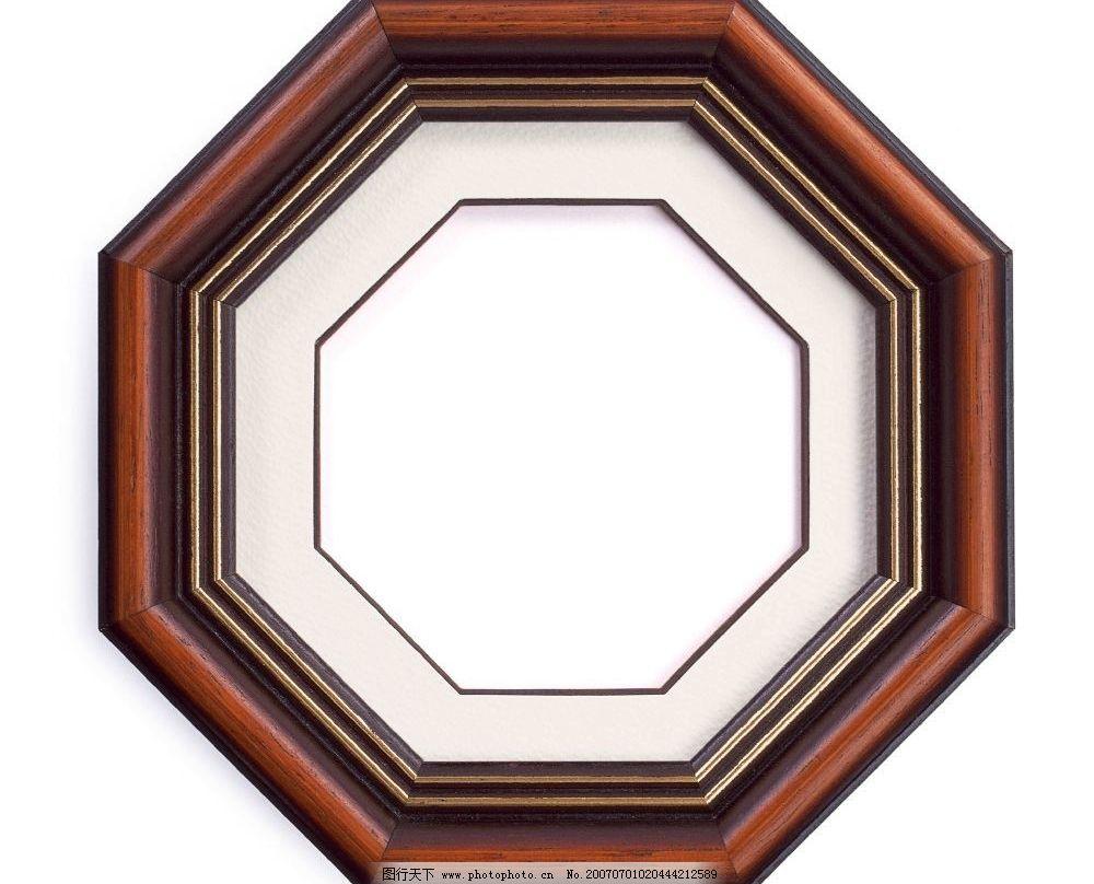 八角形照片像框图片