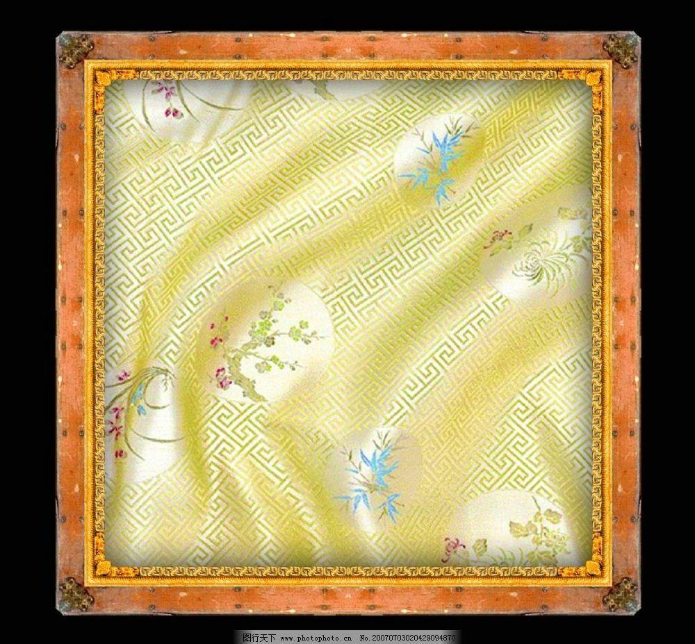 传统边框 古典边框 传统背景 古典背景 中国风格边框 古代边框