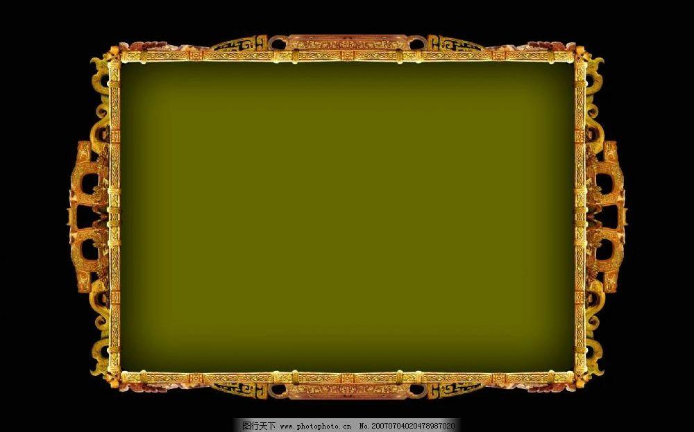 中国风格边框 古代边框