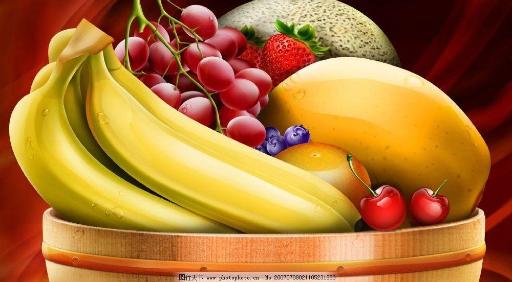 水果图片_3d作品设计_3d设计_图行天下图库