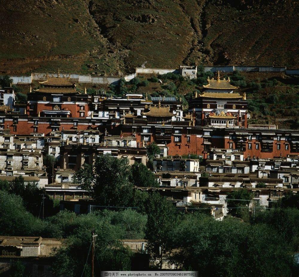 西藏风景区图片