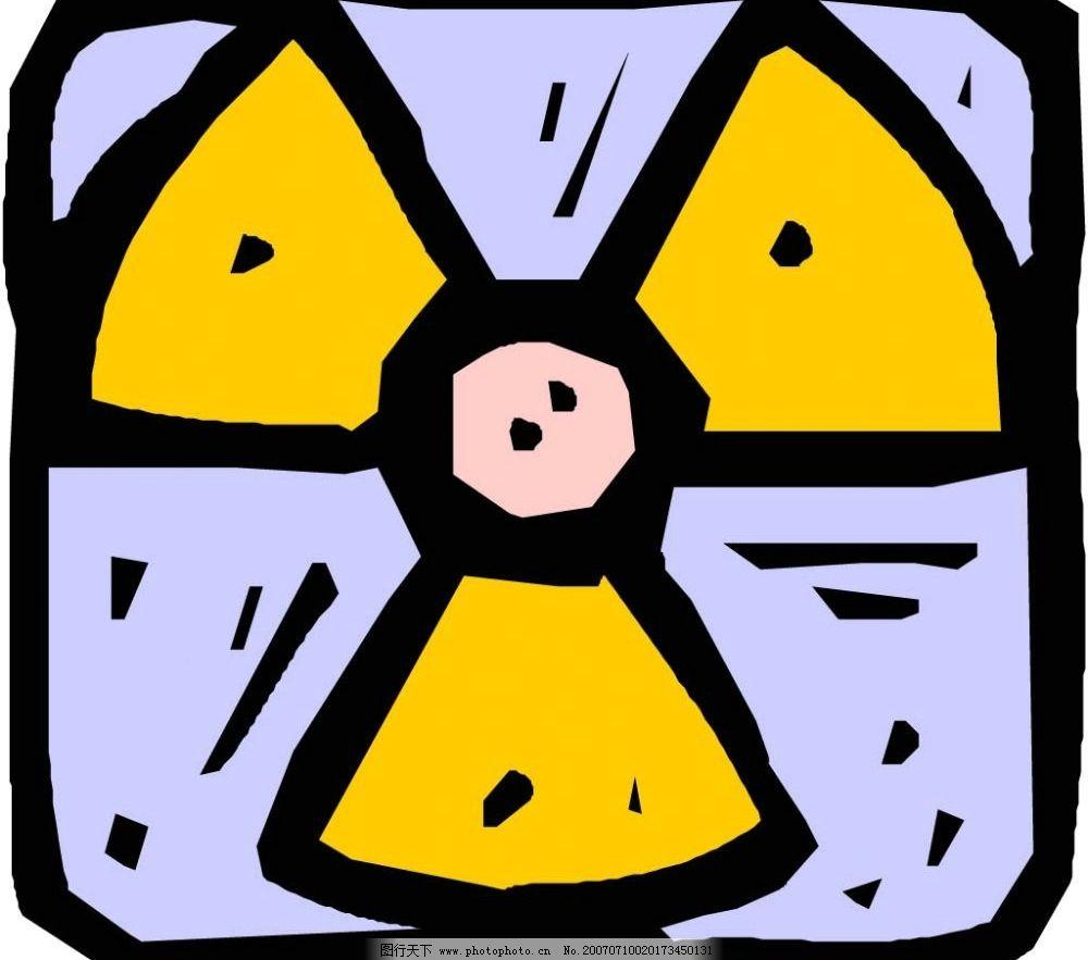 电风扇标识 图标 标志 标识 示意牌 指示牌 示意图 指示图 卡通 矢量