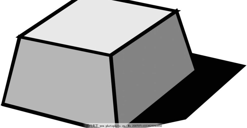 立体几何梯形图片