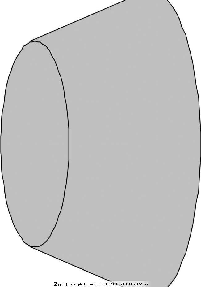 圆柱体 立体几何 几何图形 立体 几何 矢量 其他矢量 矢量素材 矢量