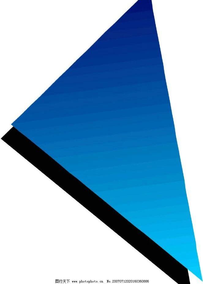 立体三角形 立体画 立体图 立体效果 立体 矢量 标识标志图标 其他