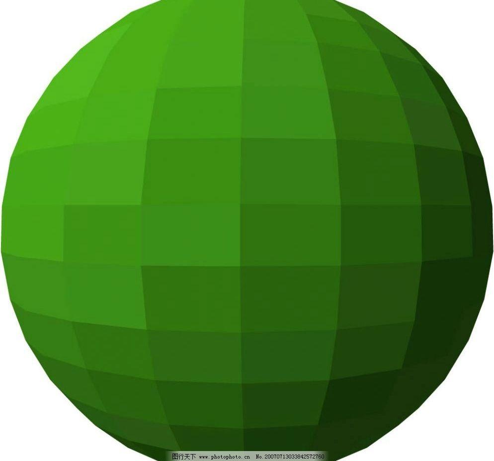 立体地球形状图形图片