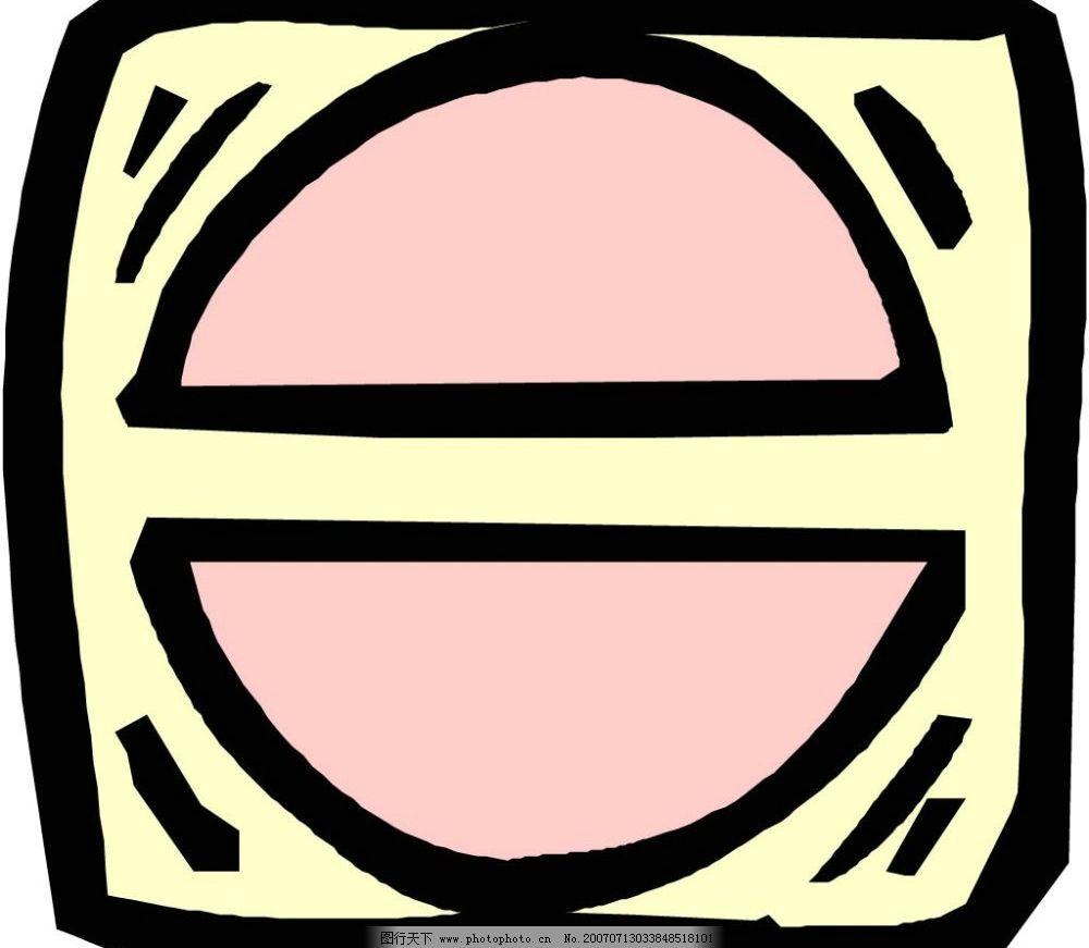 卡通几何图形 图形 几何 设计图形 矢量 其他矢量 矢量素材 图形形状