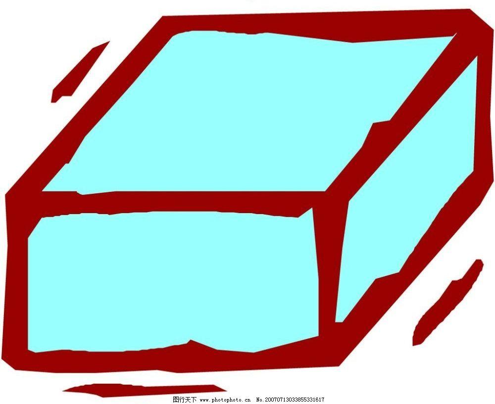 卡通几何图形 立体 图形
