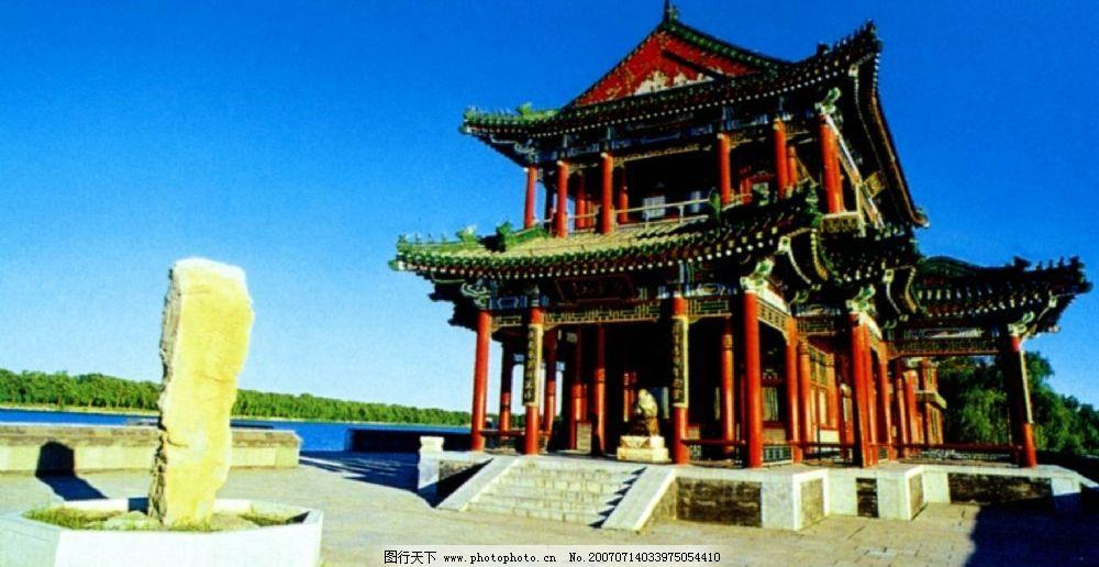 颐和园景明楼 北京颐和园 风景 风景名胜 风景区 旅游风景 国内风景