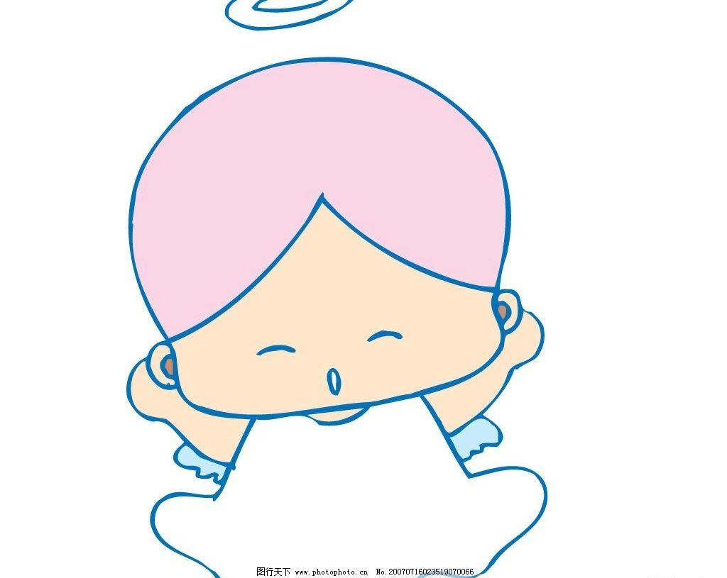 卡通天使宝宝图片