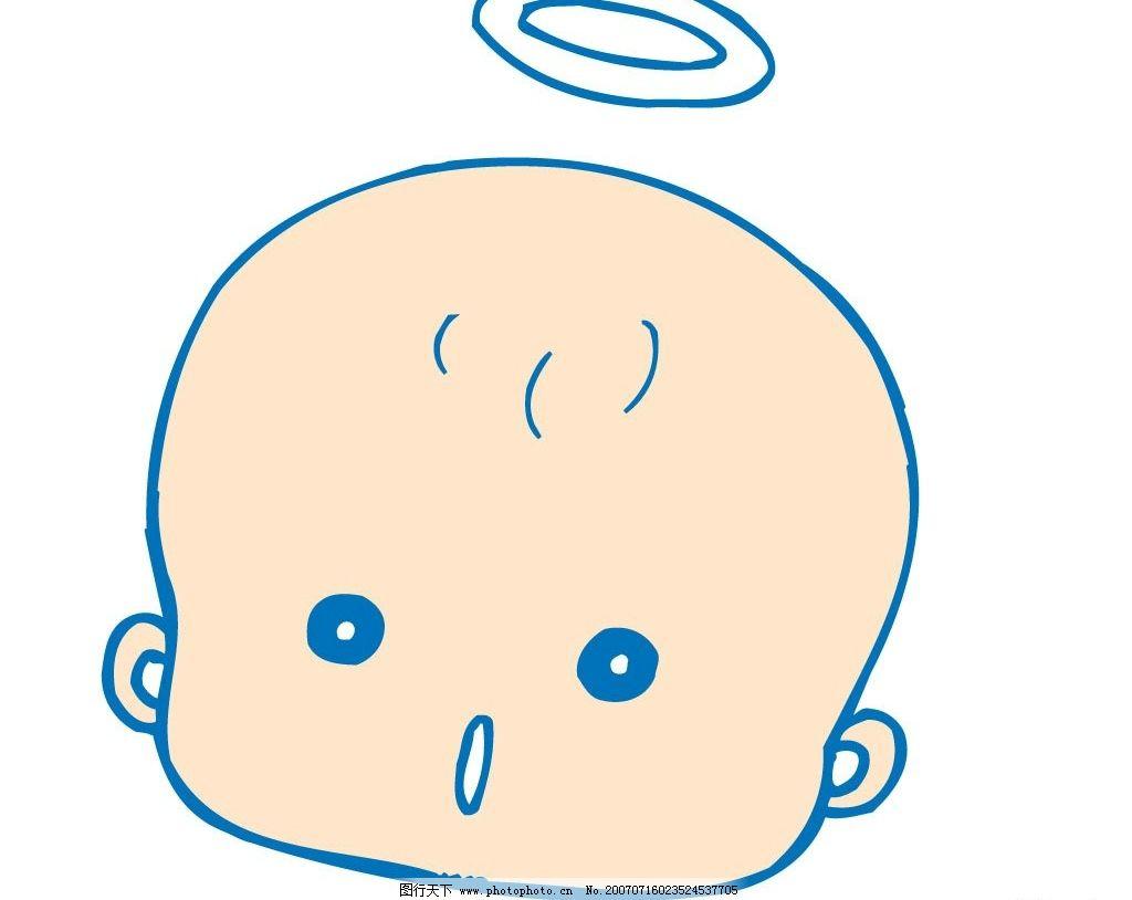 天使宝宝头像图片,小天使 婴儿 儿童 卡通宝宝 卡通