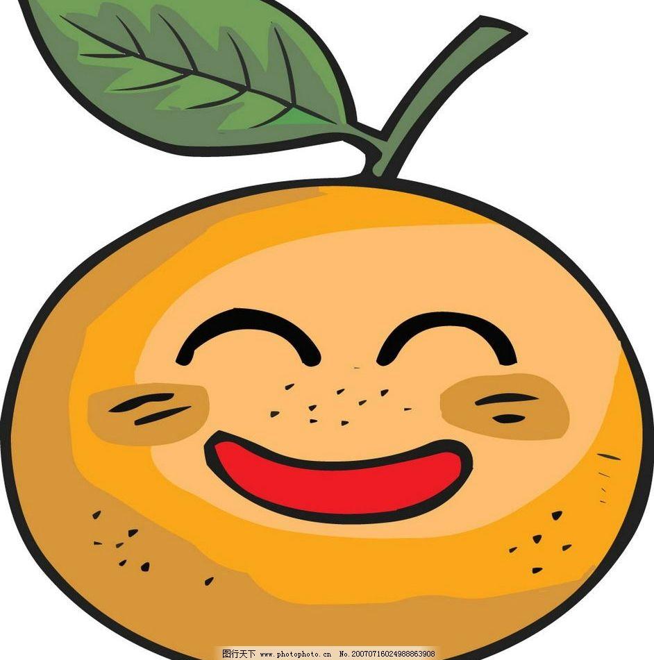 矢量水果卡通 卡通水果 卡通水果图片 韩国卡通水果 漫画水果 动漫