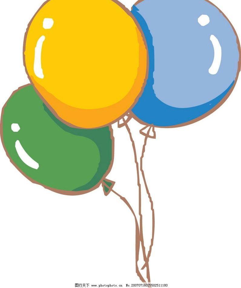 气球 物品 卡通物品 矢量物品 卡通 矢量 生活百科 生活用品 矢量图库