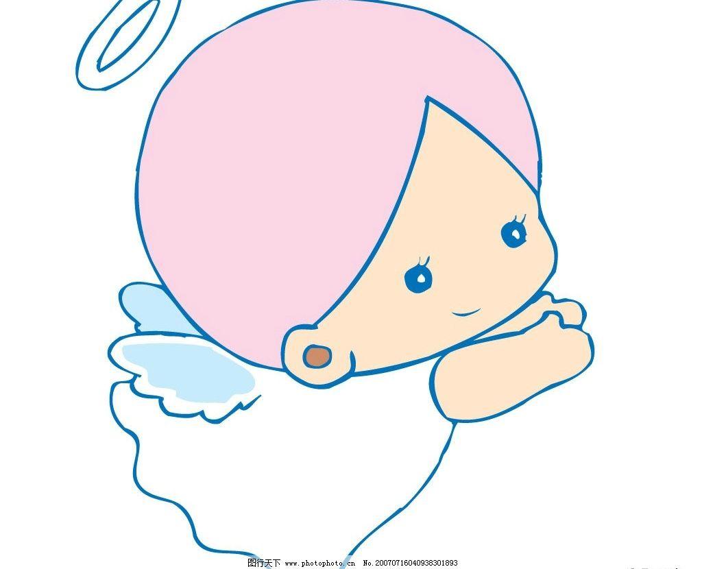 flash动画 动画素材  小天使飞翔 天使 小天使 宝宝 婴儿 儿童 卡通