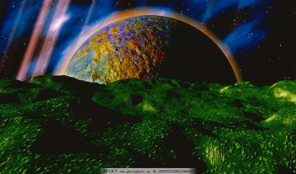 宇宙天体图片_科学研究_现代科技_图行天下图库