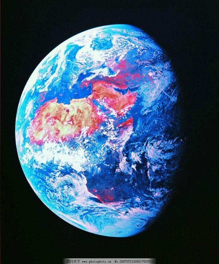 俯视地球 天体 星球 科学 科技 宇宙 天文 行星 设计图 现代科技 科学