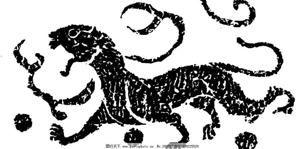 陶瓷壁画 画 壁画 矢量壁画 矢量 文化艺术 美术绘画 壁画黑白矢量图