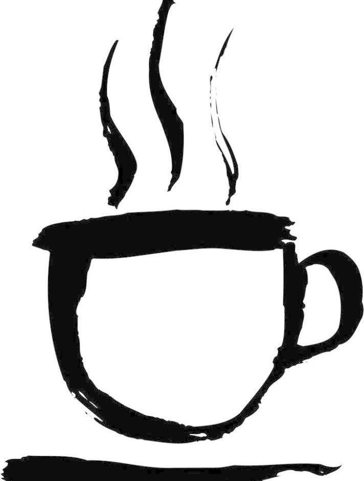 ai 画 毛笔画 美术绘画 矢量画 矢量图库 文化艺术 热咖啡随笔画矢量