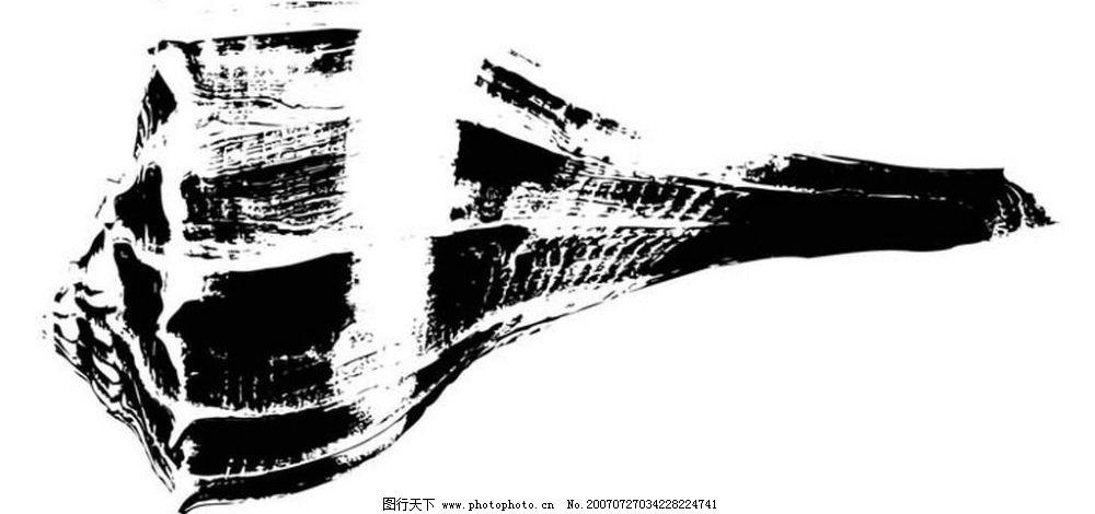 黑白海螺 贝壳 画 黑白图 矢量黑白图 黑白矢量图 生物世界 海洋生物