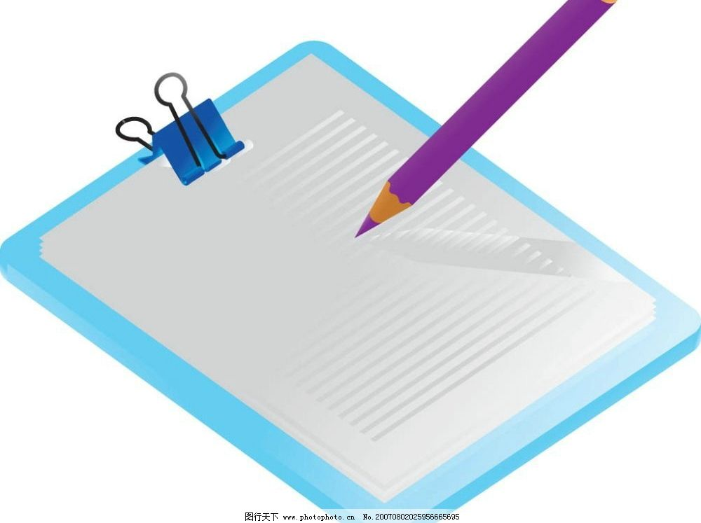 记录本 笔 铅笔 文具 矢量 矢量图 学习办公用品 矢量图库