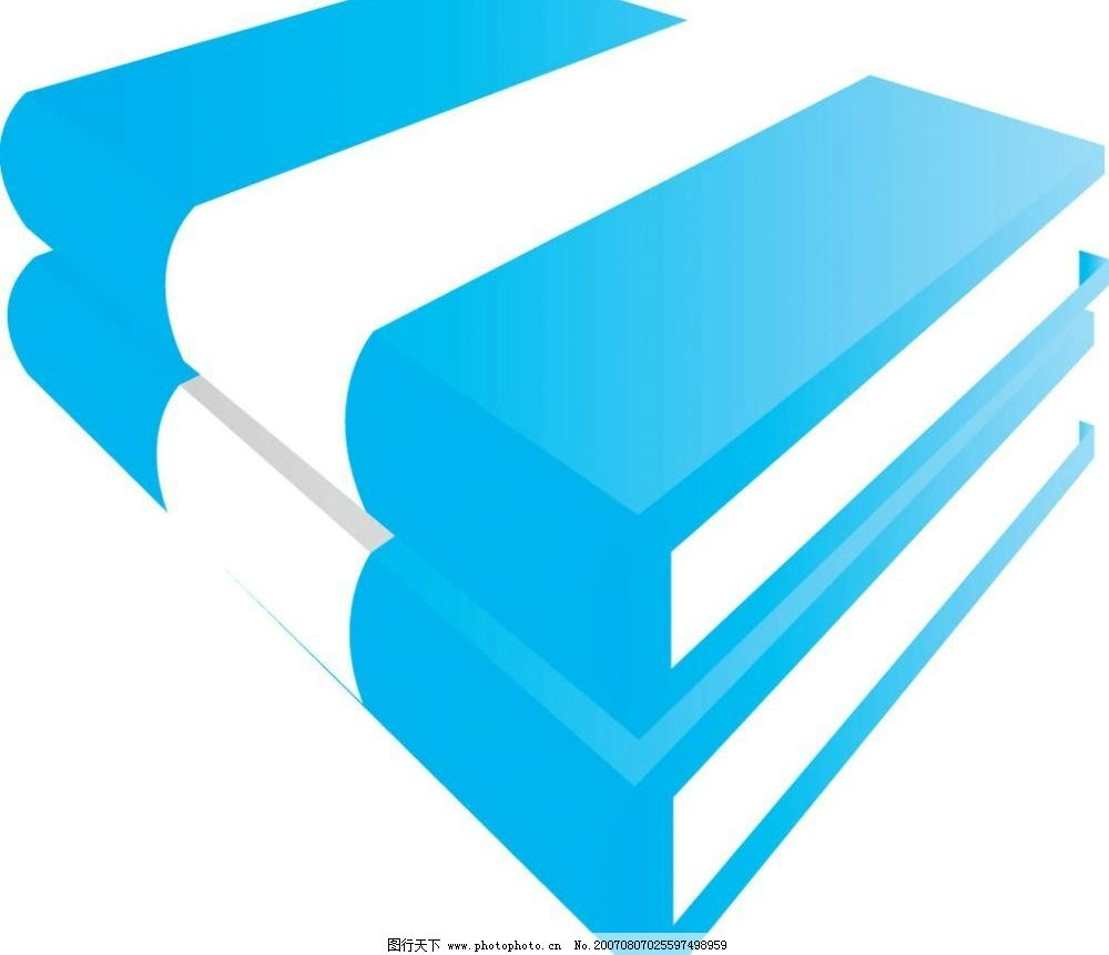书本 本子 课本 矢量 矢量图 生活办公 矢量图库