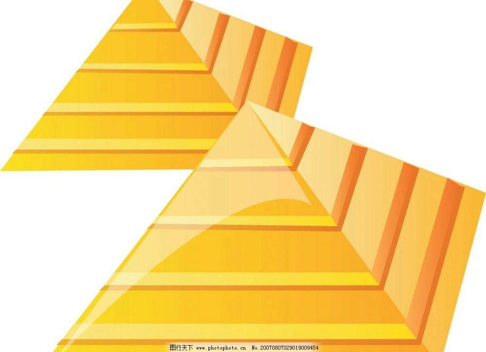 金字塔 建筑 矢量 矢量图 建筑家居 其他 建筑矢量图 矢量图库 ai