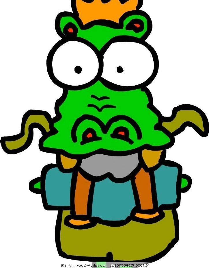 卡通鳄鱼 动物 卡通小动物 卡通动物图 卡通动物图案 动物卡通画 卡通