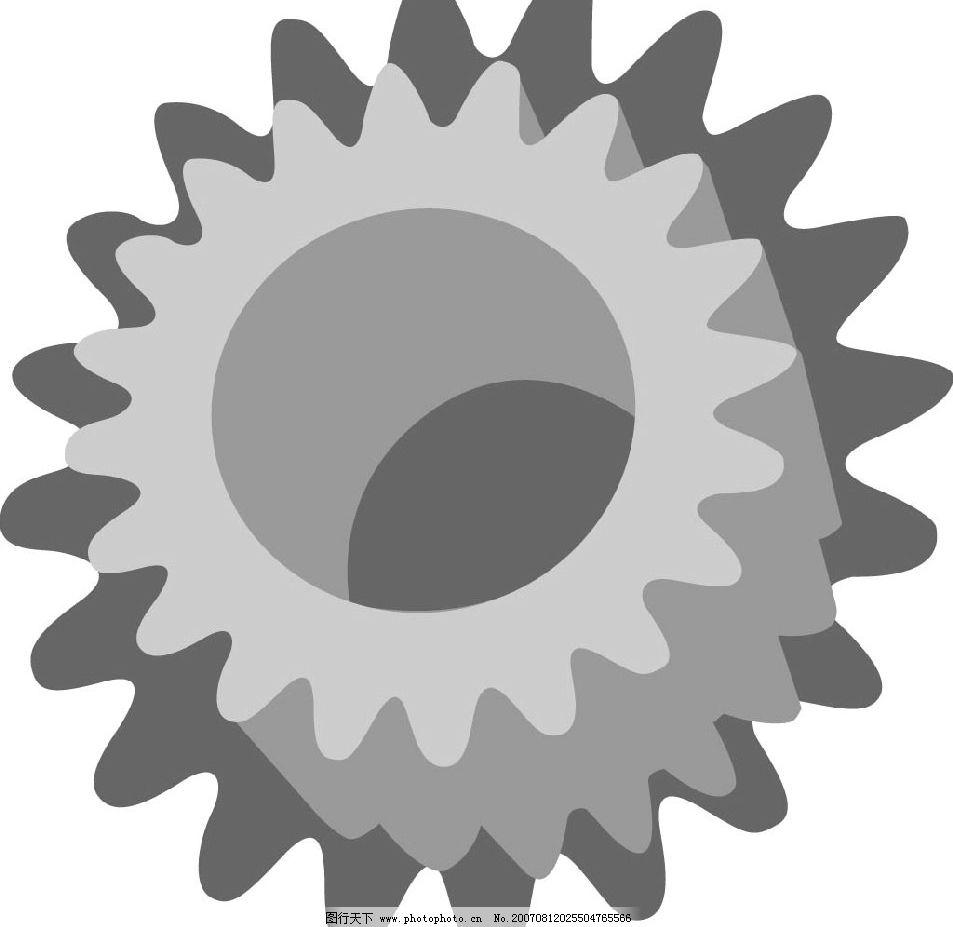 齿轮 轴承 生活物品 矢量 矢量图 生活百科 生活用品 矢量图库 ai