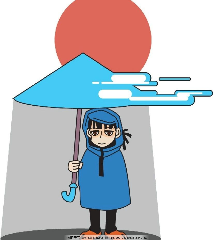 气象漫画 科学 插画 矢量漫画 矢量插画 矢量图 其他矢量 矢量素材