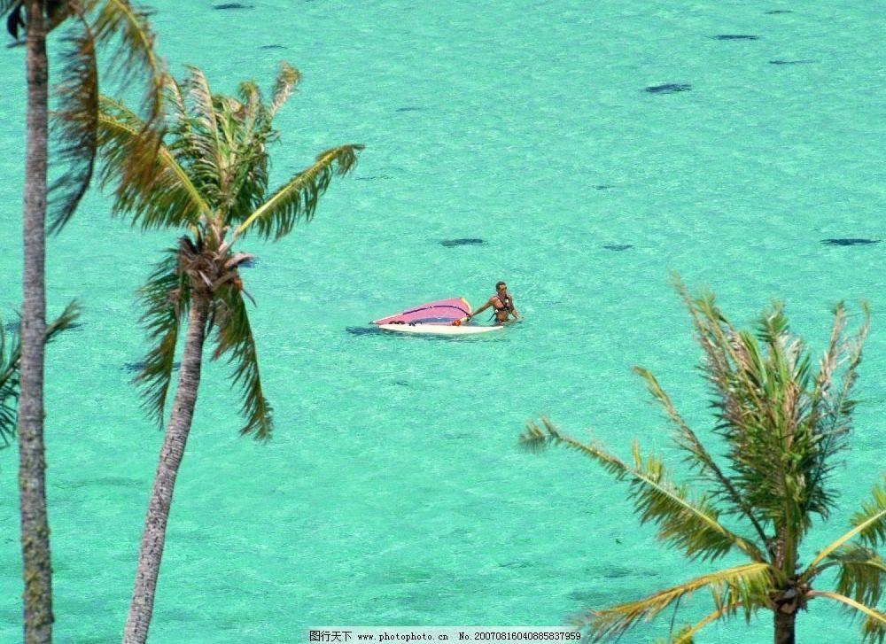 海 海水 大海 游泳 人物 夏威夷-关岛塞班im 其他 图片素材 夏威夷