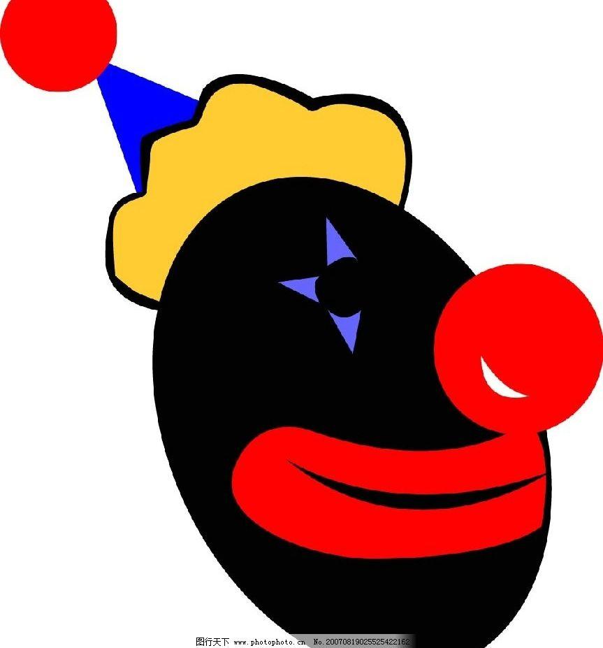 小丑头像图片