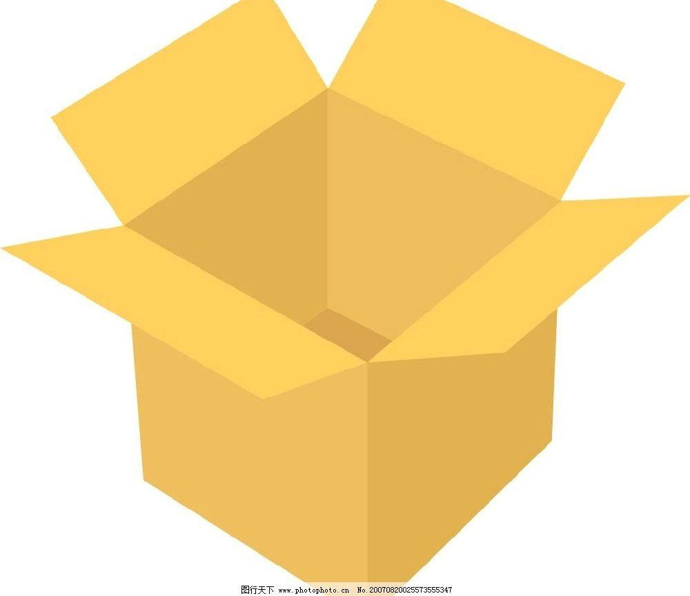 纸箱 矢量 矢量图 生活百科 生活用品 矢量图库 ai