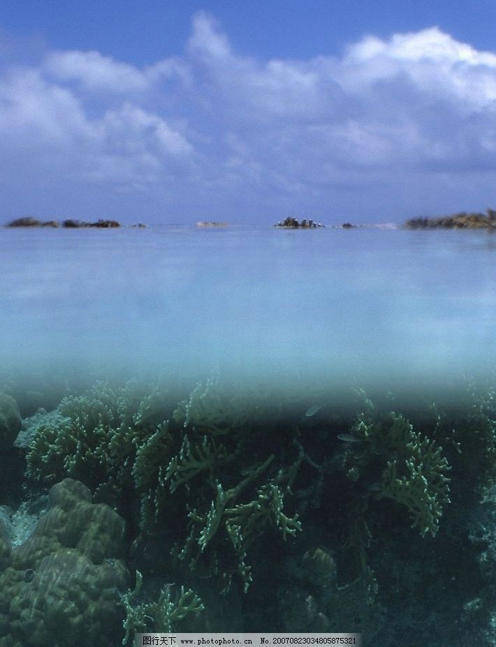 大海 蓝天 白云 海洋 海水 蔚蓝的大海 大海图片 大海的图片 大海图