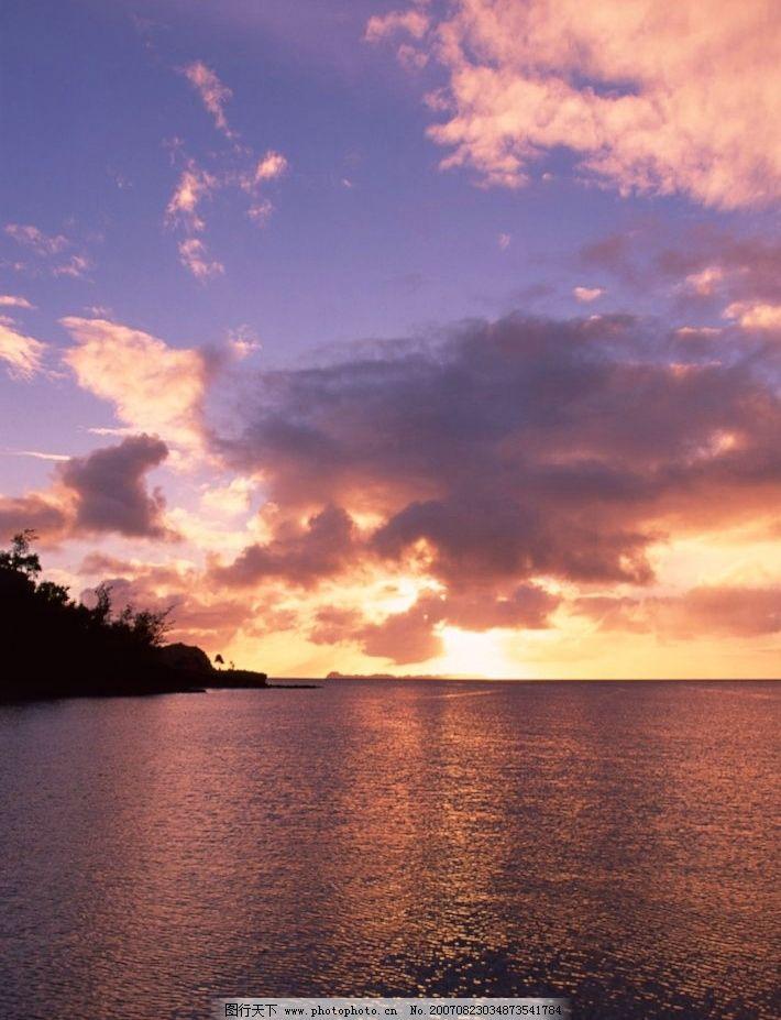 海上日出 大海 海洋 海水 摄影图 自然景观 自然风景 夕阳大海 摄影