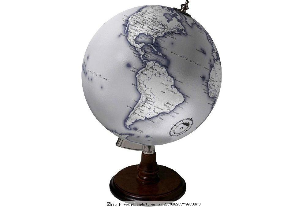 废旧物品手工制作地球仪方法