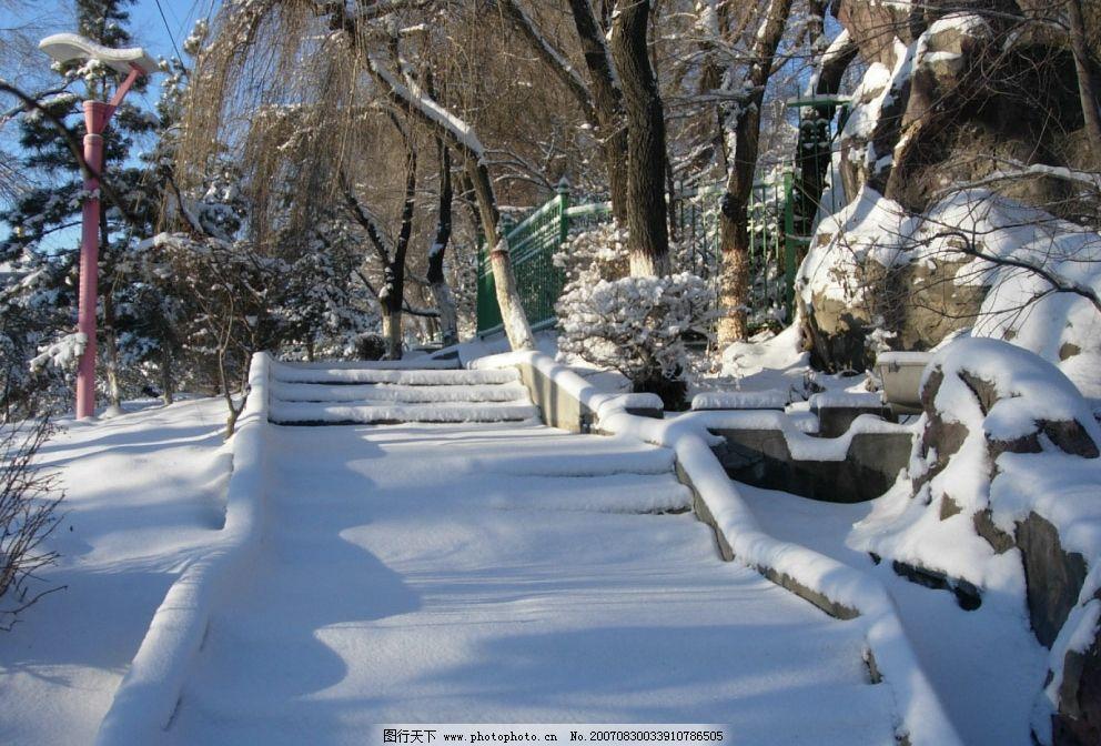乌鲁木齐的雪景图片