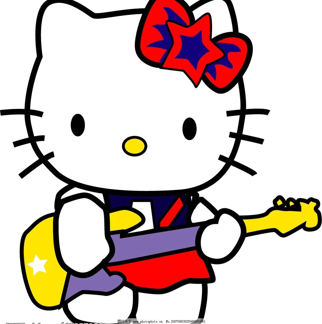 kitty猫图片
