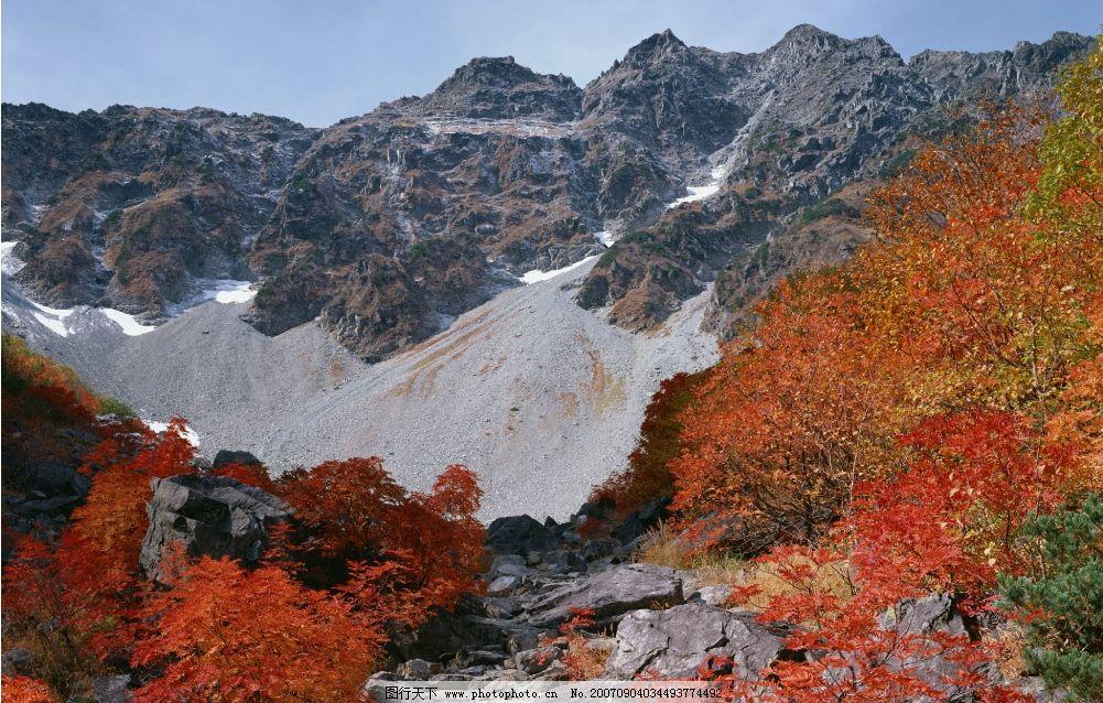 秋天的高山 山峰 大山 山 高山 山峰图片 山峰的图片 自然景观 山水