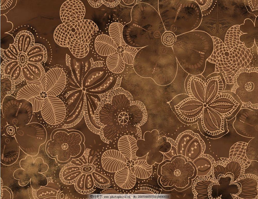 传统花纹背景 古典花纹 传统底纹 花纹布纹 中国底纹 古典底纹