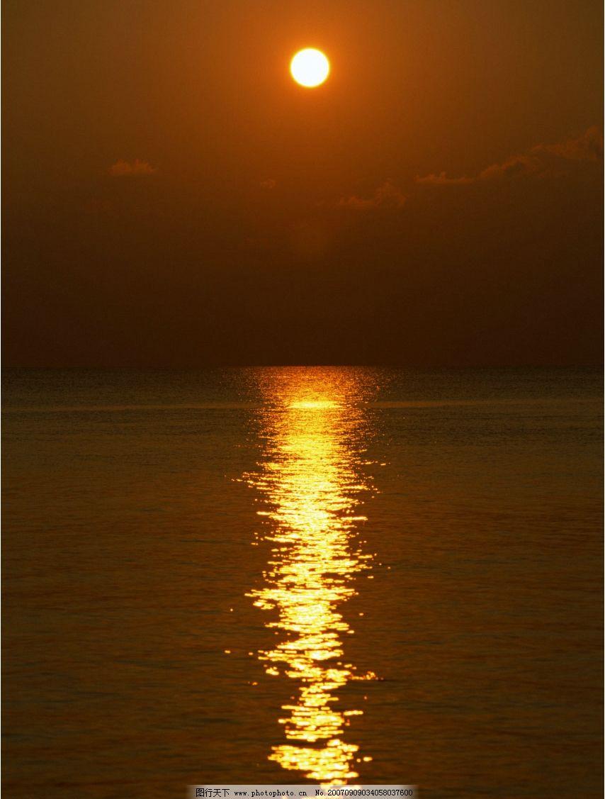 海上夕阳 大海 海洋 海水 大海图片 大海的图片 大海照片 大海景色