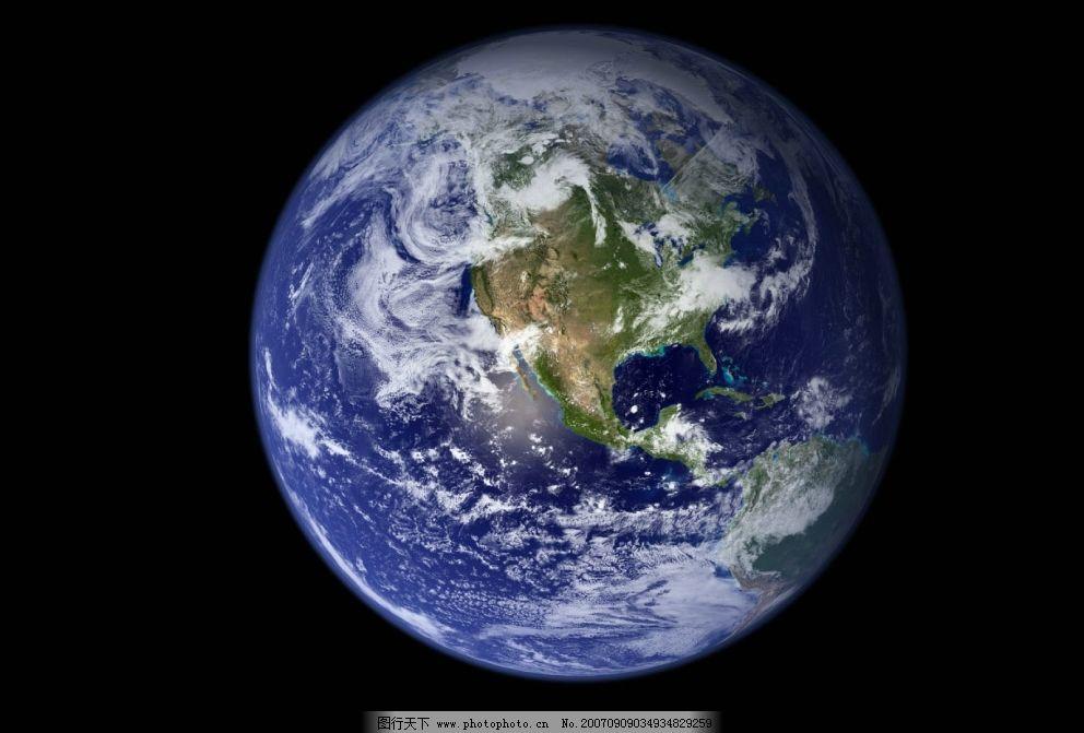地球太空图