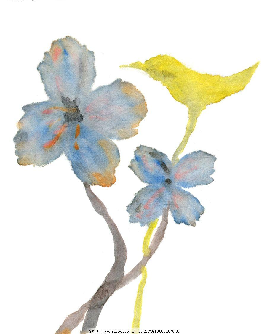 韩国风格 花卉psd素材 花的漫画图 植物漫画 psd素材 源文件库   psd