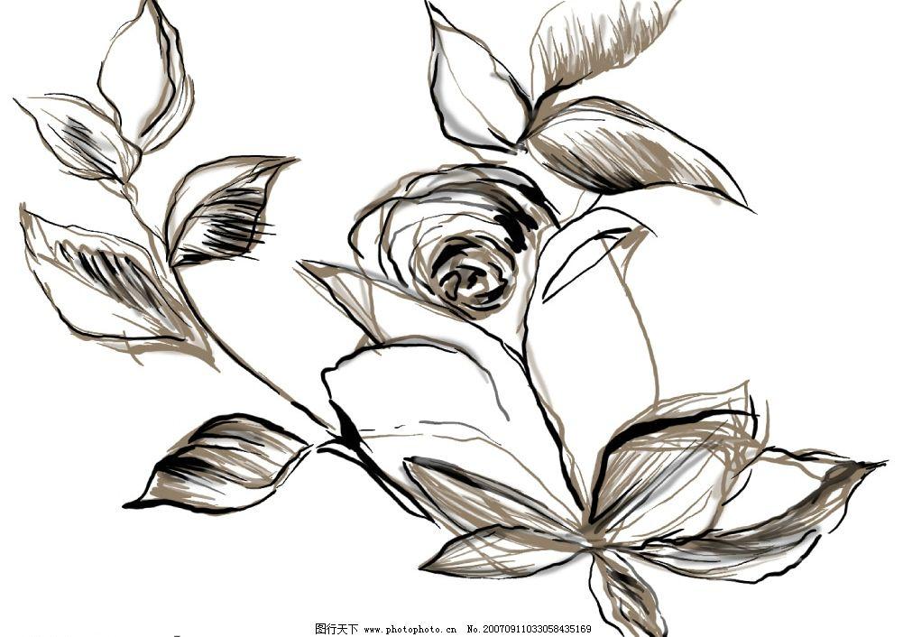 花朵绘画 小花朵 韩国花纹psd素材 花朵psd素材 卡通花朵 韩国风格