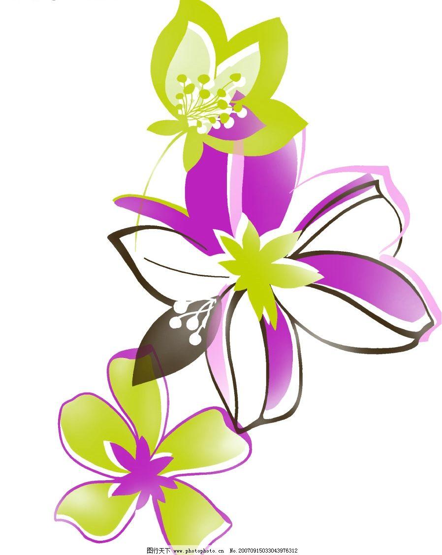 精美花卉素材 爱心花圈 心型花圈 心形花环 花朵 卡通花朵 韩国风格