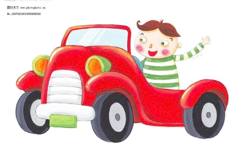 开玩具车的小男孩模板下载 开玩具车的小男孩 儿童 矢量儿童 韩国儿童