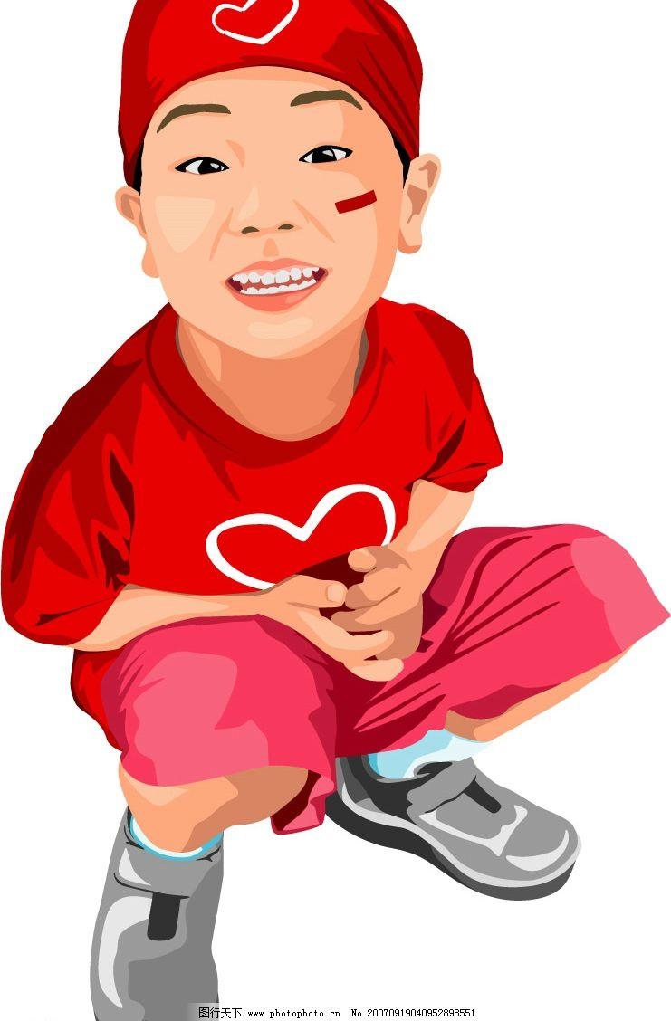 小男孩 儿童 矢量儿童 韩国儿童矢量图 卡通儿童矢量图 韩国儿童矢量 儿童矢量素材 韩国儿童矢量素材 矢量卡通儿童 矢量人物 儿童幼儿 矢量图库 0 AI