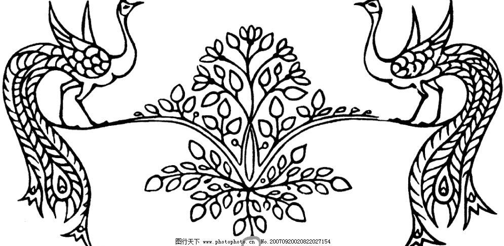 龙凤 底纹边框 其他素材 设计图库   72 gif