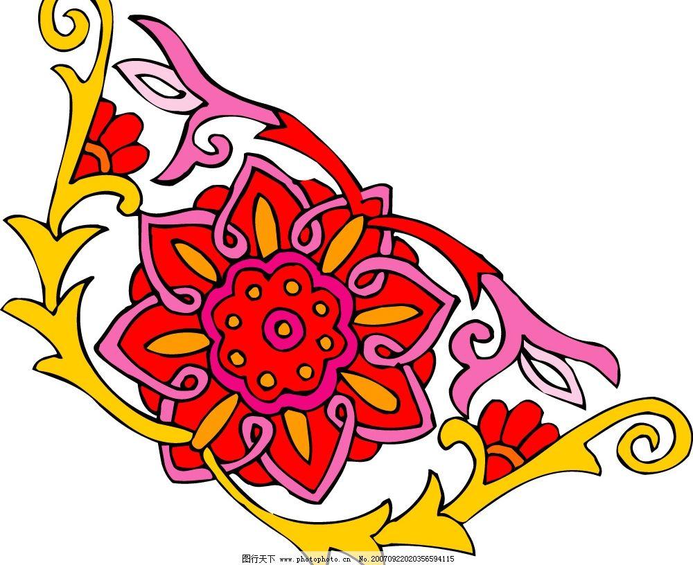 吉祥图案 图纹 花纹花边 矢量图库