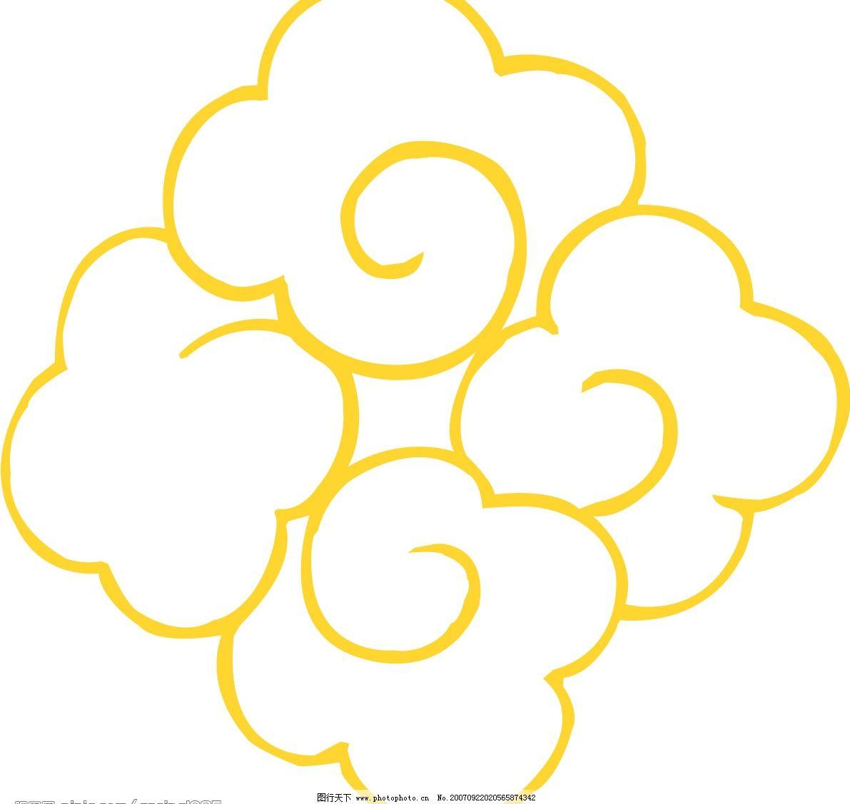 矢量云纹19 底纹边框 条纹线条 矢量云纹图 矢量图库