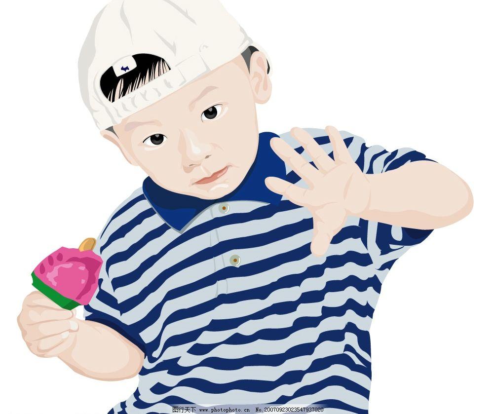 可爱的中国男孩图片